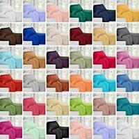 Egyptian Comfort 1800 Count 4 Piece Deep Pocket Bed Sheet Set Solid Color Hotel