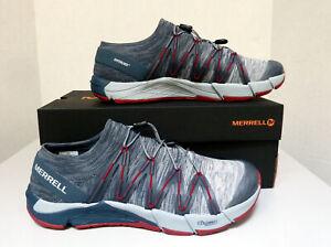 New Men`s Merrell Bare Access Flex Knit Running Shoes J12541 J42883