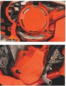 Acerbis X-Power KTM Engine Cover Kit Orange EXC-F250/350 2017 - 2019