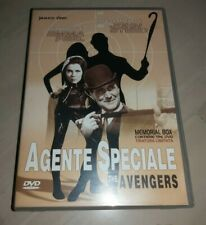3 DVD AGENTE SPECIALE THE AVENGERS MEMORIAL BOX TIRATURA LIMITATA YAMATO VIDEO