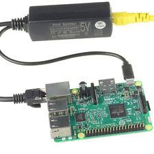 Active PoE Splitter Power Over Ethernet 48V to 5V 2.4A Micro USB Adapter 4Pi hot