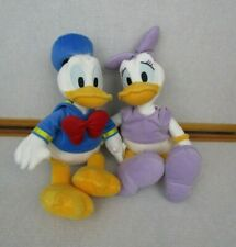 "Disney Store Donald Daisy Duck Plush Stuffed Animal 15"" Tagged"