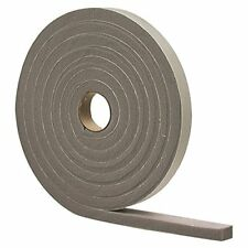 "M-D 02311 1/2"" X 10' Gray Waterproof & Airtight Foam Tape Weather Strip 12-pk"