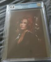 WEB OF BLACK WIDOW #1 COMIC MINT VARIANT COVER CGC 9.8 SS SIGNED BY SHANNON MAER