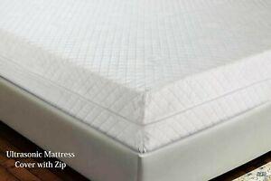 Diamond Anti Bed Bug Full Zipped Mattress Protector Total Encasement Cover