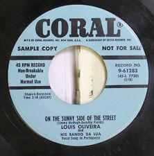 Jazz 45 Louis Oliveira And His Bando Da Lua - On The Sunny Side Of The Street /
