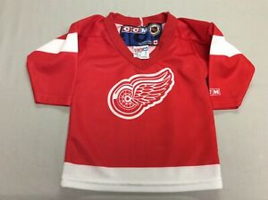 DETROIT RED WINGS CCM RED ICE HOCKEY KIDS BABY JERSEY TODDLERS SMALL