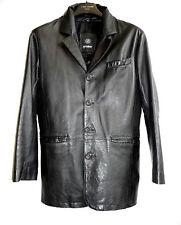 John Devin Lederjacke Gr. 44 D Echtes Leder S schwarz Jacke Herren leather black
