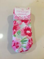 Little Girls Low Cut Socks 6 Pairs Floral/Striped/Dots Shoe Size 9-3