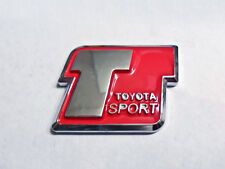 Toyota Sport Emblem Red Decal badge JDM Supra Celica MR2 Camry 4RUNNER COROLLA