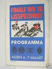 1976 ICERACE,IJSSPEEDWAY ASSEN FINALE WK 76 6-7MAART,SPINKA,VERNER,TARABANKO,PJ3