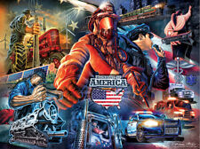 Jigsaw Puzzle Americana Backbone of America 1000 pieces NEW Made in the USA