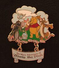 The Many Adventures of Winnie the Pooh Tigger Piglet Eeyore Disney Dangle Pin