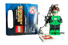 LEGO SUPERHEROS GREEN LANTERN KEYRING KEYCHAIN BRAND NEW