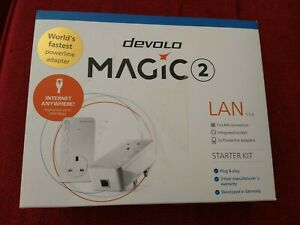 Devolo Magic 2-2400 LAN Starter Kit: Stable Home MAGIC 2 - 2400 Mbit/s