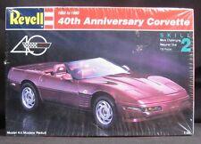 Revell 1993 '93 Chevy Corvette 40th Anniversary (1953 to 1993) Model Kit SEALED