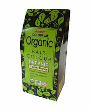 RADICO Colour Me Organic Hair Colours 100g Copper Brown