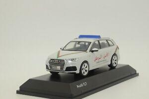 RARE ! NEW Audi Q7 Morocco Police Custom Made 1/43