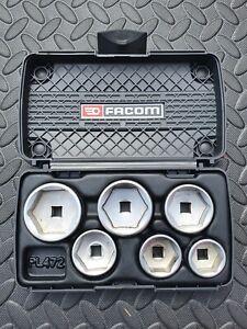 Facom D.163-J7PB Socket Set 24,27,30,32,36,38mm