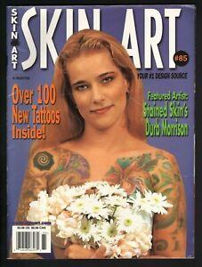 2002 Skin Art #85 - Vintage Tattoo Magazine