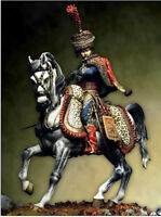 Scale model Hussars Guard (Napoleon) 75 mm Figure High Quality Resin Kit