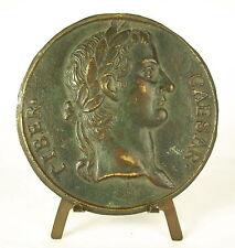 Medaglia Imperatore Tiber Caesar Tiberio Divi Augusti Filius Augustus 86mm medal