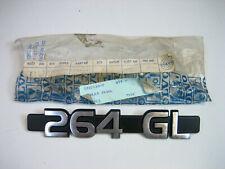 Genuine Volvo 264 GL Trunk Emblem Badge NOS RARE 1202188 NEW