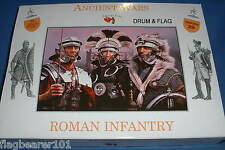 A CALL TO ARMS SET #29. ROMAN INFANTRY ROMANS 1/32 SCALE UNPAINTED PLASTIC c54MM