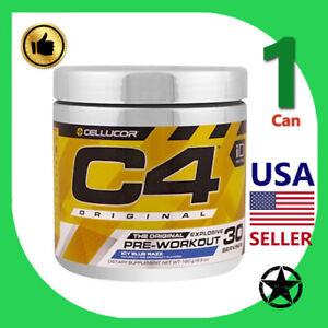 1 Can Cellucor, C4 Original, Explosive Pre-Workout Icy Blue Razz 30 Servings