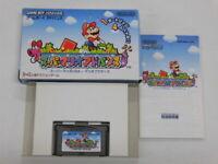 X2295 Nintendo Gameboy Advance Super Mario Advance 1 Japan GBA w/box