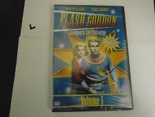 FLASH GORDON CONQUERS THE UNIVERSE VOL. 1 BUSTER CRABBE, CAROL HUGHES