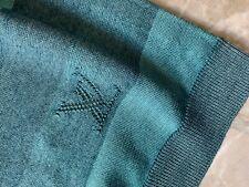Authentic Louis Vuitton LV Monogram silk blend jumper top pullover tshirt M MINT