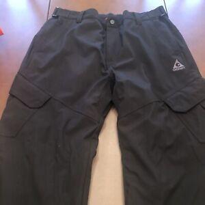 Men's Gerry Snow Tech Snow Pants  # 990157NWT Sz XXL/2XL Black-EUC