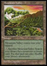 MTG 4x MOUNTAIN VALLEY - Mirage *Land PLAYED*
