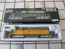 Kato Union Pacific Sd40-2 powered engine Ho Scale