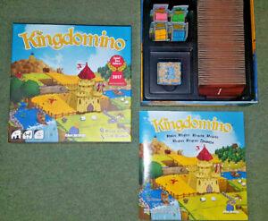 KINGDOMINO - STRATEGY TILE GAME - BLUE ORANGE GAMES