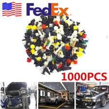 From US 1000x Mixed Auto Fasteners Interior&Exterior Rivet Pin Clip Plastic Ware