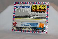 Majorette Super Tandems #361 Magirus Tractor Trailer Container Semi, MOC