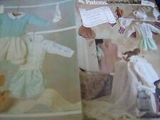 Patons A Royal Collection For Your Baby Knitting Leaflet H283 Christening Set