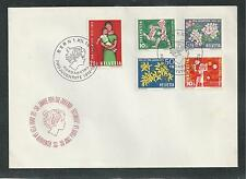 SWITZERLAND # B318-322  CHILDREN'S YEAR  First Day Cover