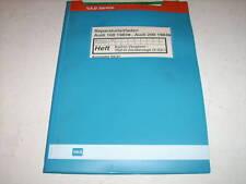 Manual de Instrucciones Audi 100/200 Tipo 44 Keihin Carburador/Tsz-Zündanlage 83