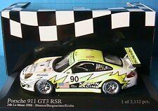 PORSCHE 911 GT3 RSR #90 24 H LE MANS 2006 BERGMEISTER J MINICHAMPS 1/43 JONSSON