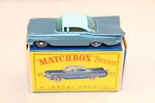 Matchbox Lesney No 57 Chevrolet Impala mint in box all original condition GPW
