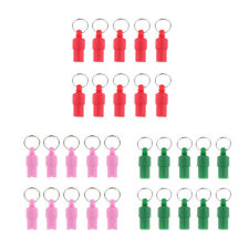 10Pcs Pet ID Tube Tag Barrel Address Name Label for Cat Dog Puppy Kitten