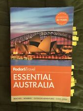 Fodors Essential Australia Paperback Book Travel Guide Lightly Used