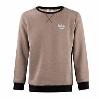 Lee Cooper Contrast Sweatshirt Mens Gents Crew Pullover T Shirt Tee Top Jumper