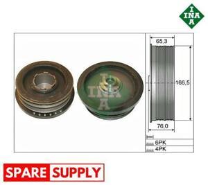 BELT PULLEY, CRANKSHAFT FOR BMW INA 544 0082 10