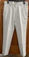 Men's Dockers Pants D1 Slim Fit Flat Front Stone (light beIge) Khakis . 32/30