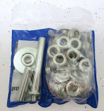 1/2 inch Grommet Installation Kit ~ With 50 1/2 inch Grommets ~ Tool & Hardware