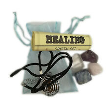 Gemstone Necklace Kit With Assorted Stones For Healing
